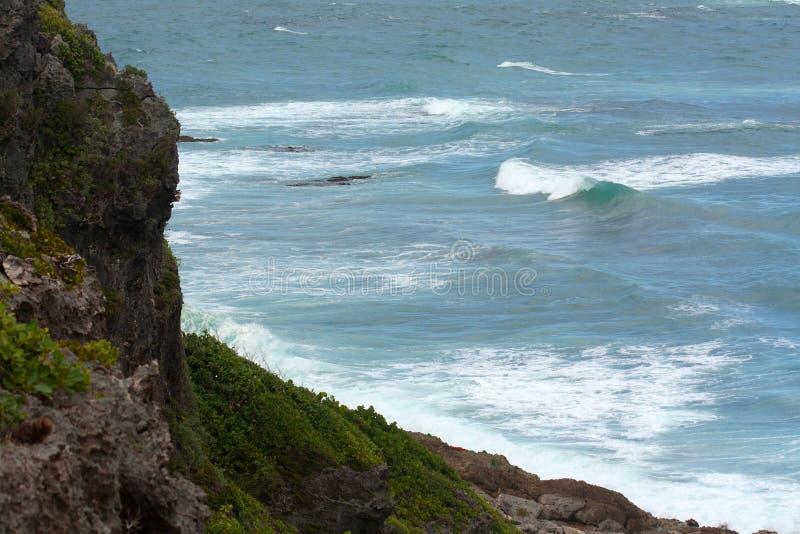 Kust van Barbuda royalty-vrije stock fotografie