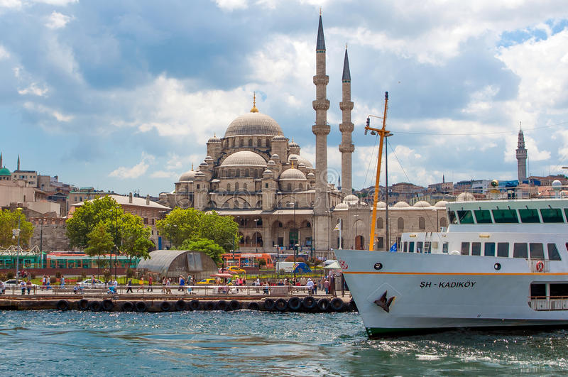Kust van Bosphorus stock fotografie