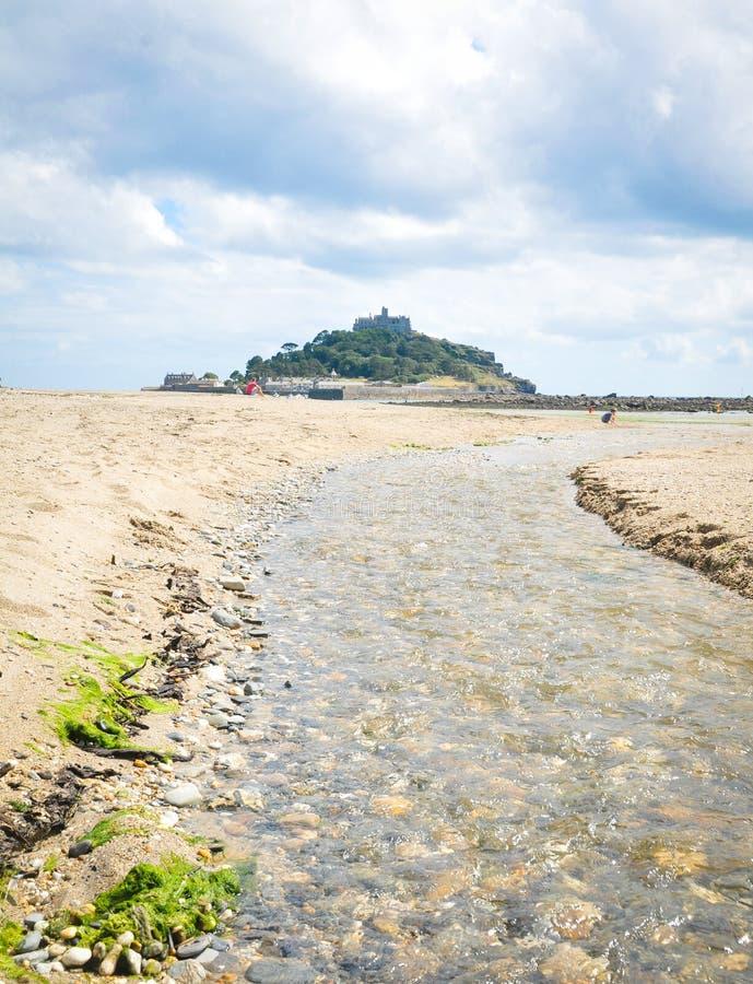 Kust van Cornwall royalty-vrije stock fotografie