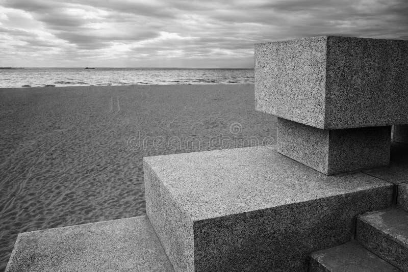 Kust van de Golf van Finland royalty-vrije stock foto's
