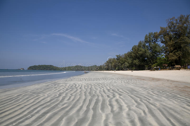 Kust van de Indische Oceaan royalty-vrije stock foto