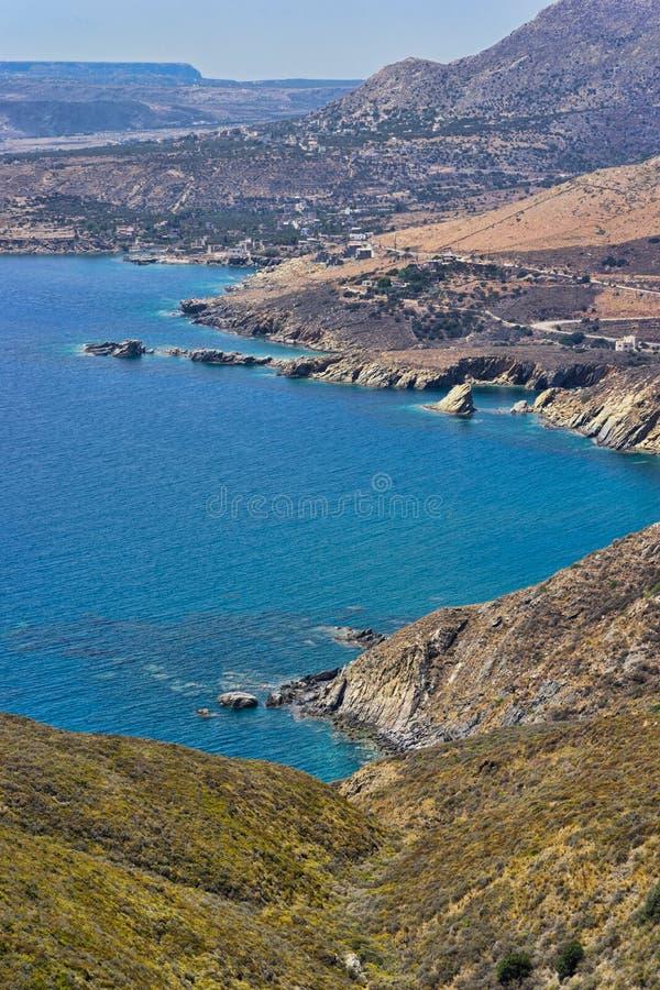 Kust van Mani, de Peloponnesus stock foto