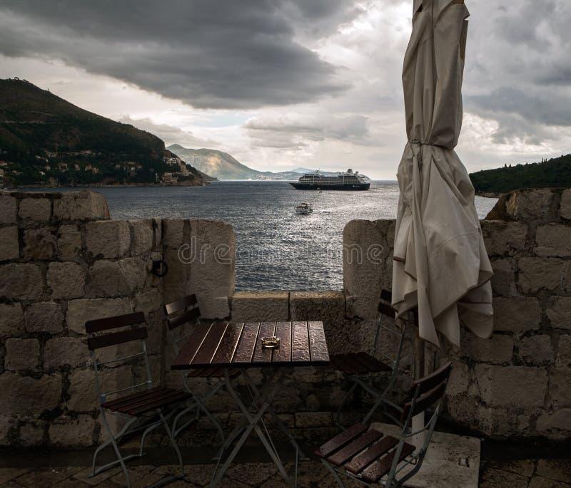 Kust van Montenegro Tivat stock fotografie