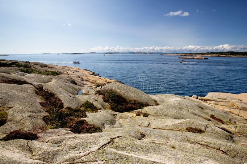 Kust van Noorwegen royalty-vrije stock foto