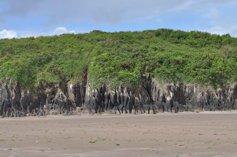 Kustbaai in Dingle, Provincie Kerry, Ierland stock fotografie