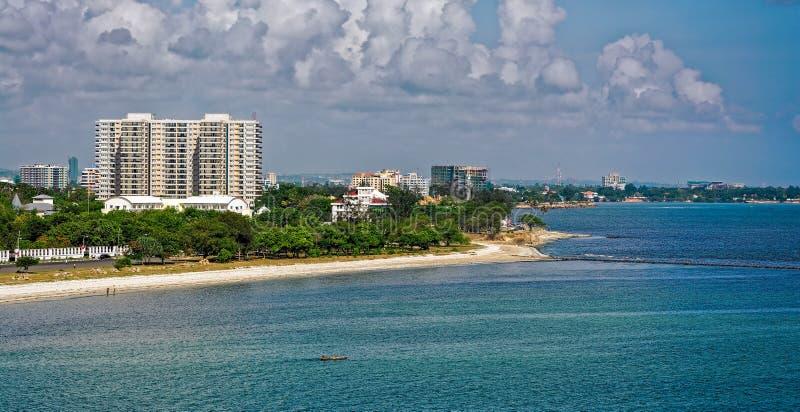 Kusten van Dar-es-saalam stock fotografie