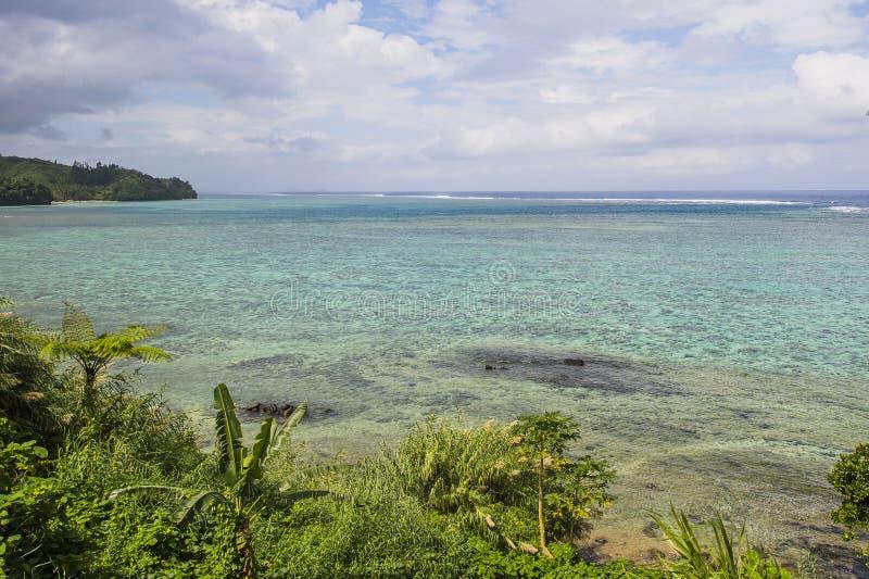 Kustertsader Fiji royalty-vrije stock foto