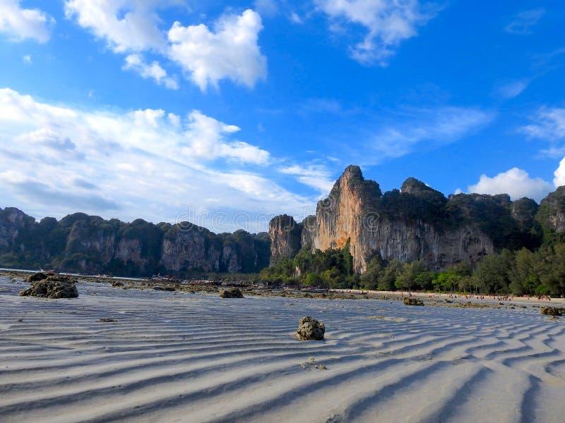Kustgebied van Thailand stock afbeelding