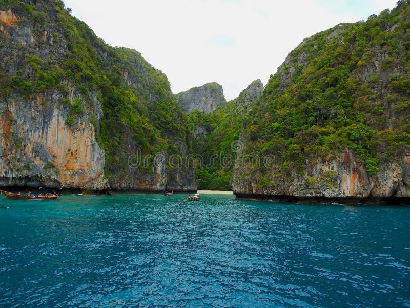 Kustgebied van Thailand stock foto