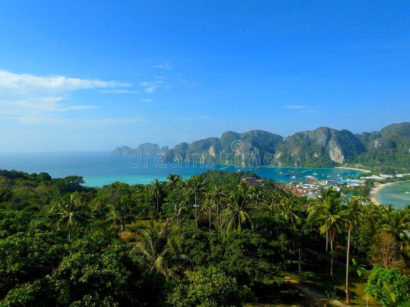 Kustgebied van Thailand royalty-vrije stock foto