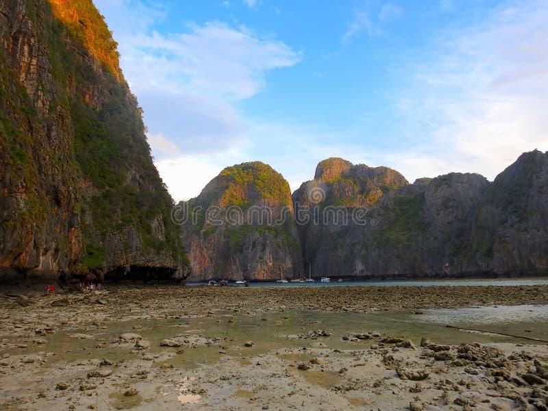 Kustgebied van Thailand royalty-vrije stock foto's