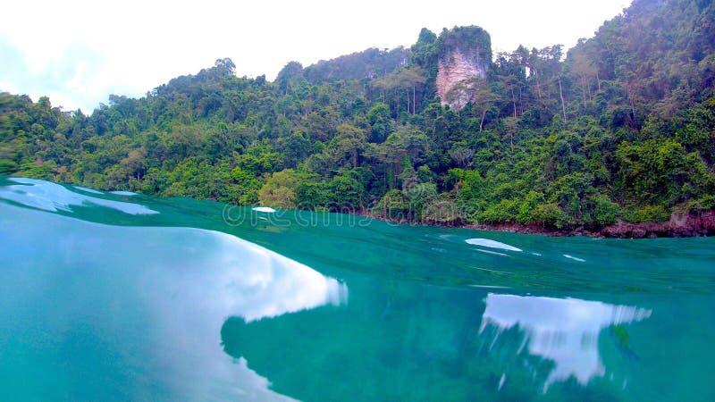 Kustgebied van Thailand stock foto's