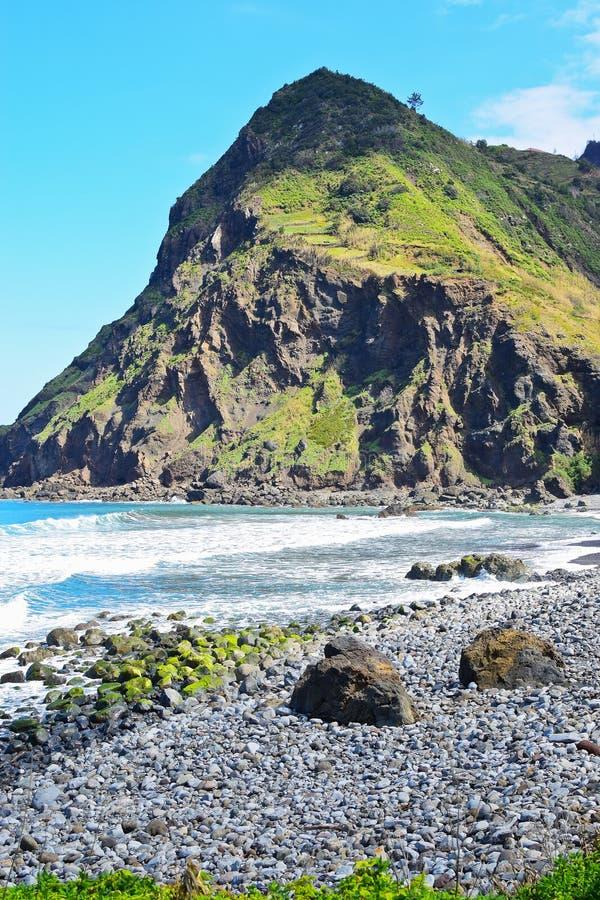 Kustlandschap in Madera royalty-vrije stock foto's