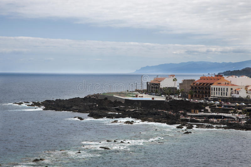 Kustlandschap van Tenerife royalty-vrije stock fotografie