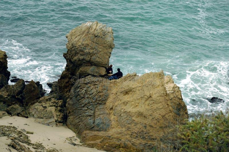 Download Kustlijn 2 van Californië stock foto. Afbeelding bestaande uit rotsen - 34710