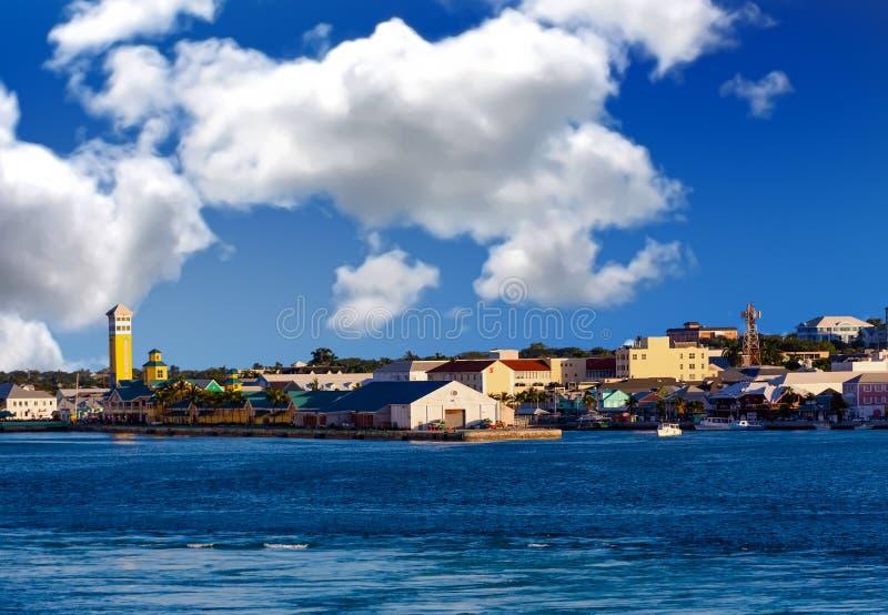 Kustlijn van Nassau stock afbeeldingen