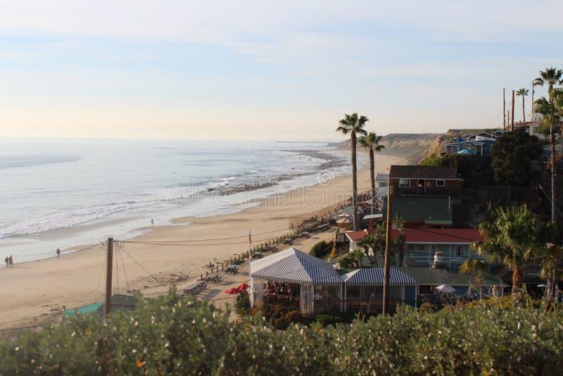 Kustlinjen av Kalifornien arkivfoton