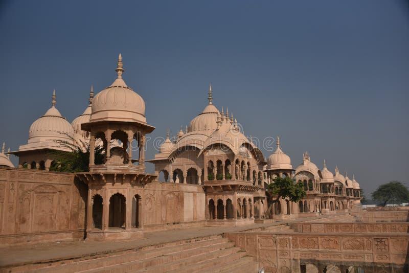 Kusum Sarovar, Mathura, Índia foto de stock