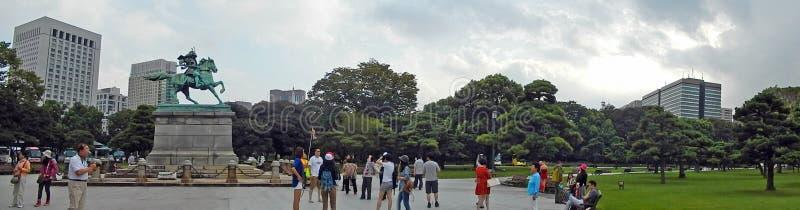 Kusunoki Masashige, Tokyo, Giappone fotografie stock libere da diritti