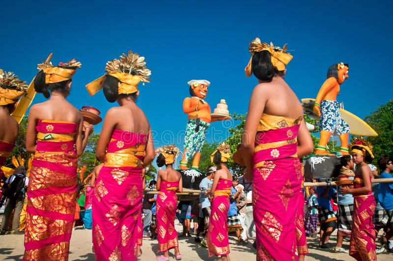 Kuta καρναβάλι στοκ εικόνα με δικαίωμα ελεύθερης χρήσης