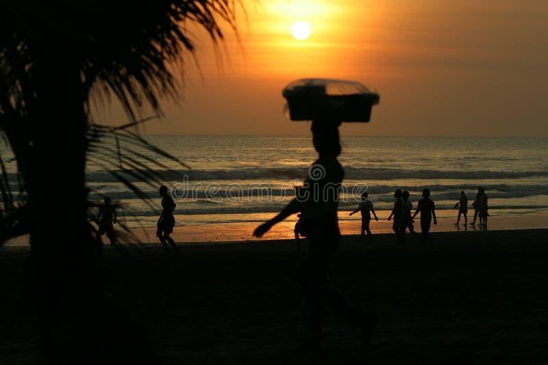 kuta παραλιών του Μπαλί στοκ φωτογραφία με δικαίωμα ελεύθερης χρήσης
