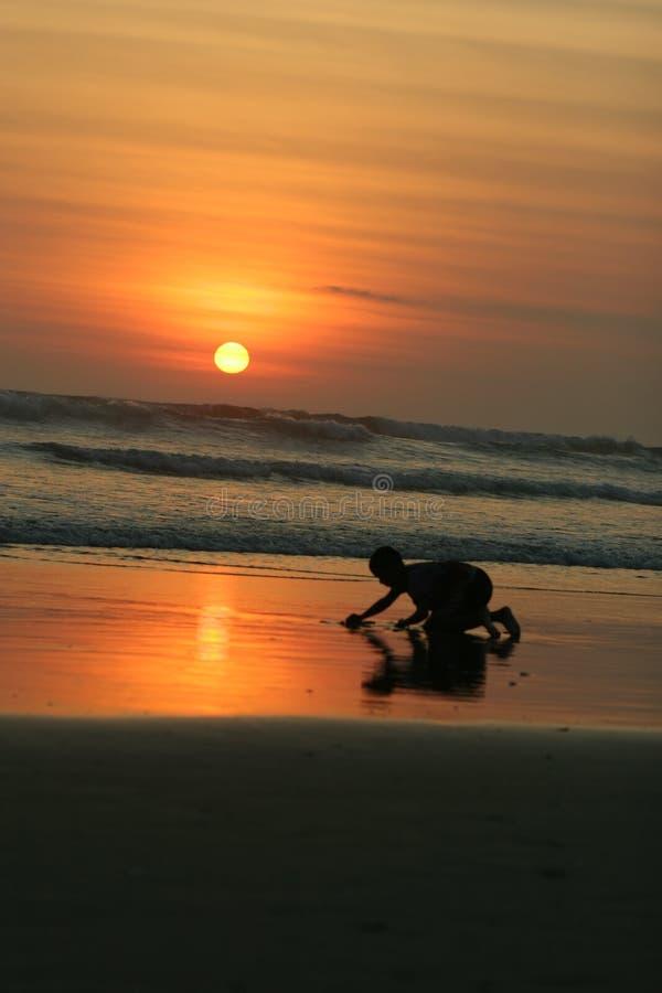 Kuta Beach Bali stock photos