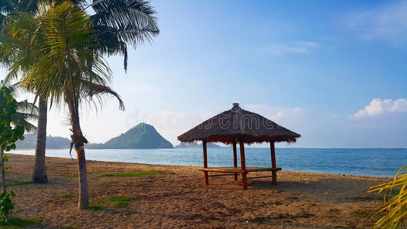 Kuta plaża Lombok fotografia stock