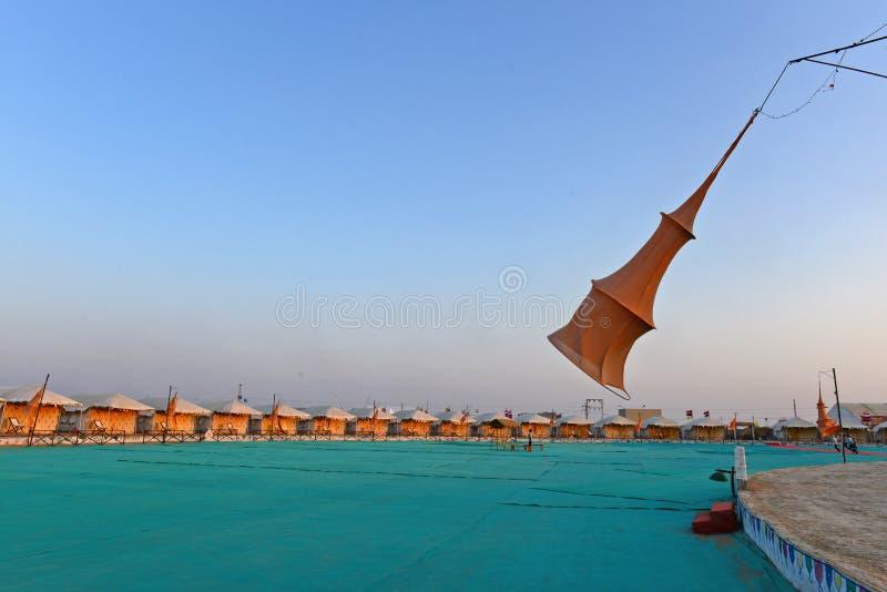 Kutch festival av Gujarat royaltyfria bilder