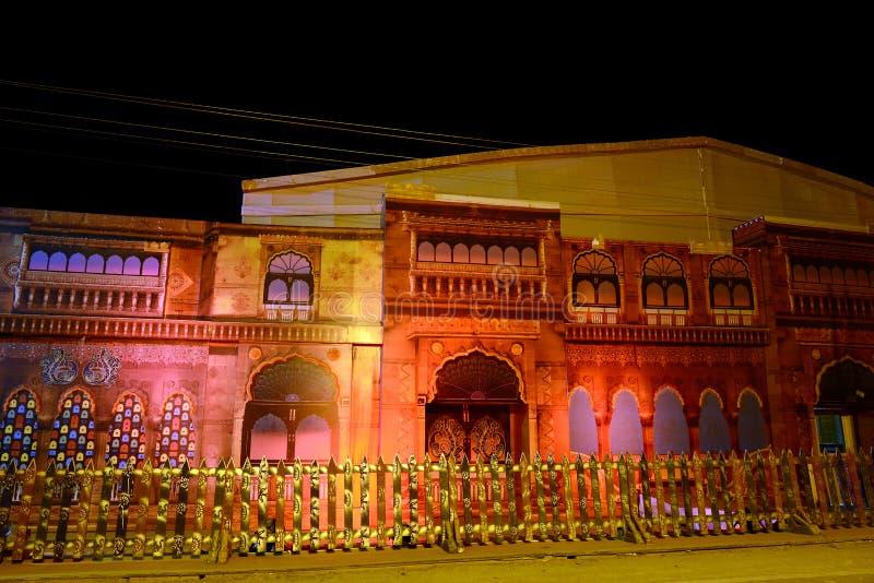 Kutchfestival van Gujarat royalty-vrije stock foto