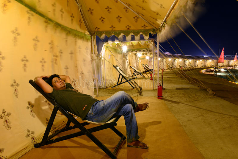 Kutchfestival van Gujarat royalty-vrije stock fotografie