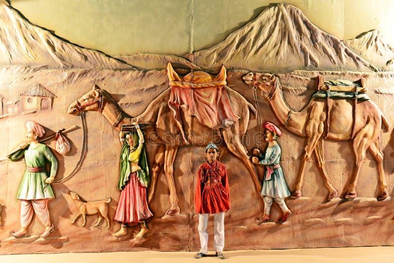 Kutchfestival van Gujarat stock afbeeldingen