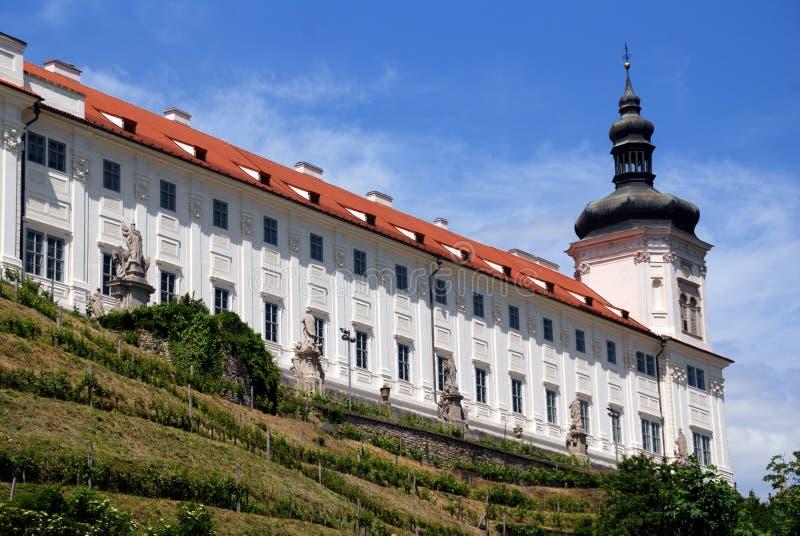 Kutná Hora, Czech Rep: Jesuit College stock photography