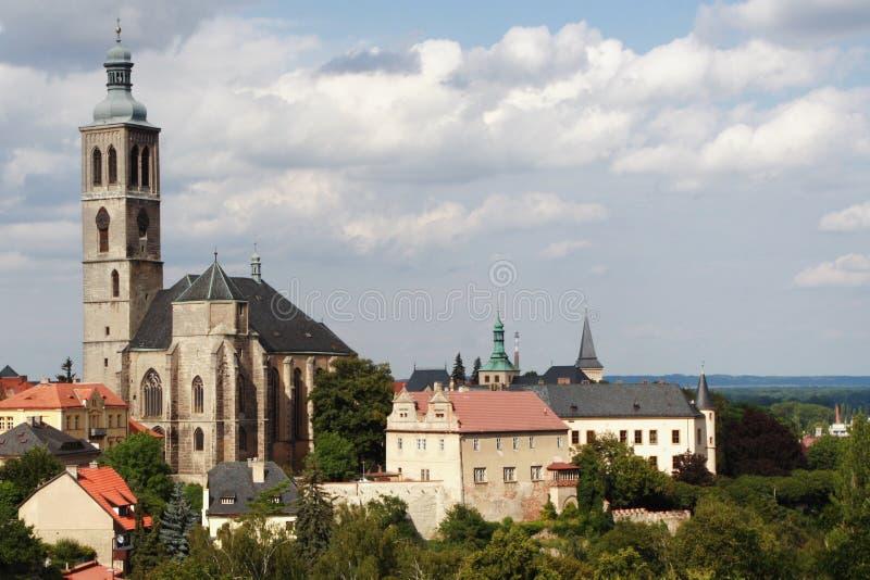 Kutna Hora. Touristic city Kutna Hora - Czech republic royalty free stock photo