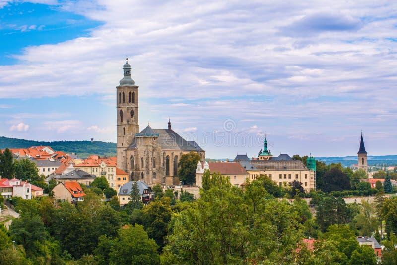 Kutna Hora. City Kutna Hora in Central Boehmia Czech republic stock photos