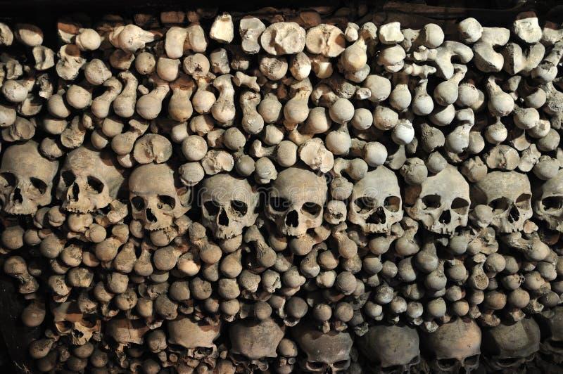 Kutna Hora, Kostnice, ossuaire de Sedlec images libres de droits