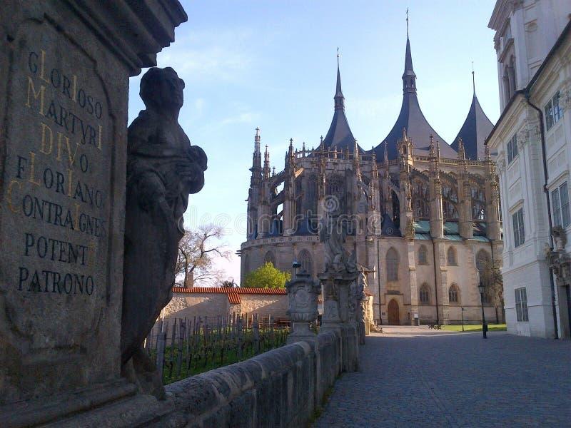 Kutna Hora town, Czech Republic. royalty free stock photo