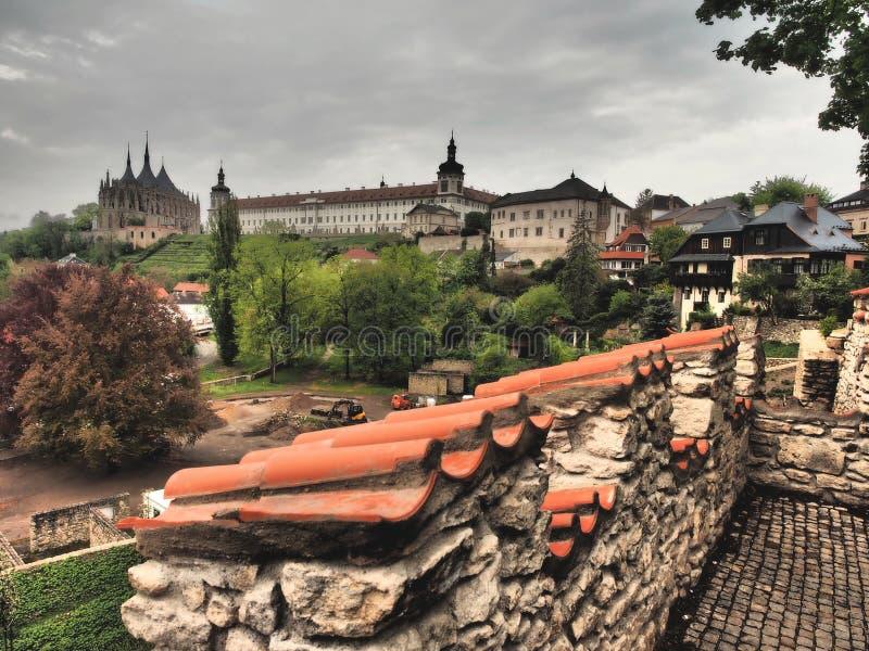 KUTNA HORA - Tschechische Republik 2019 stockbild