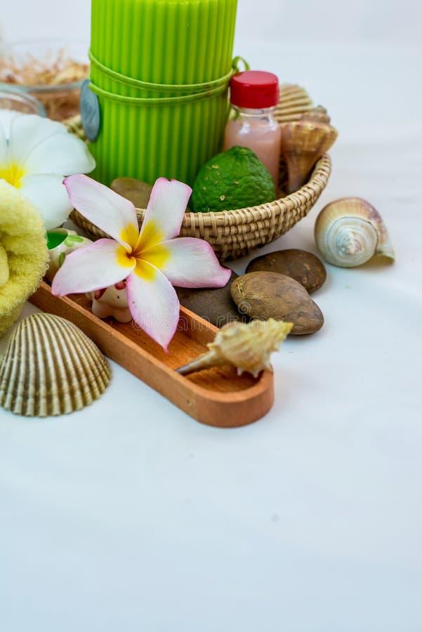 Kuuroord en Thaise massage royalty-vrije stock foto