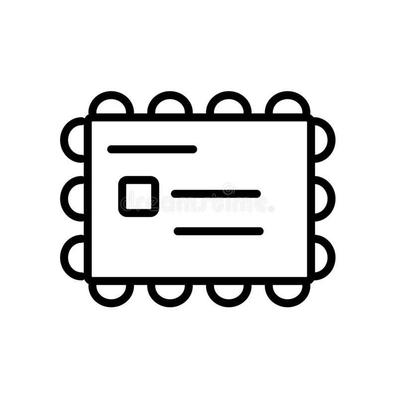 Kuvertsymbolsvektor som isoleras på vit bakgrund, kuverttecken royaltyfri illustrationer