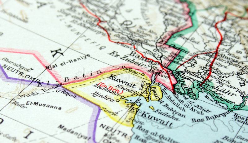 Kuwait stockfotografie