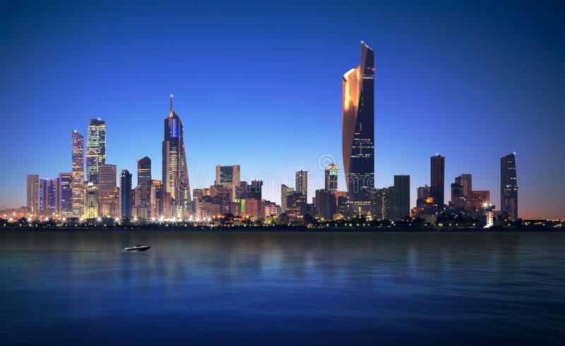 Kuwait City stockfoto