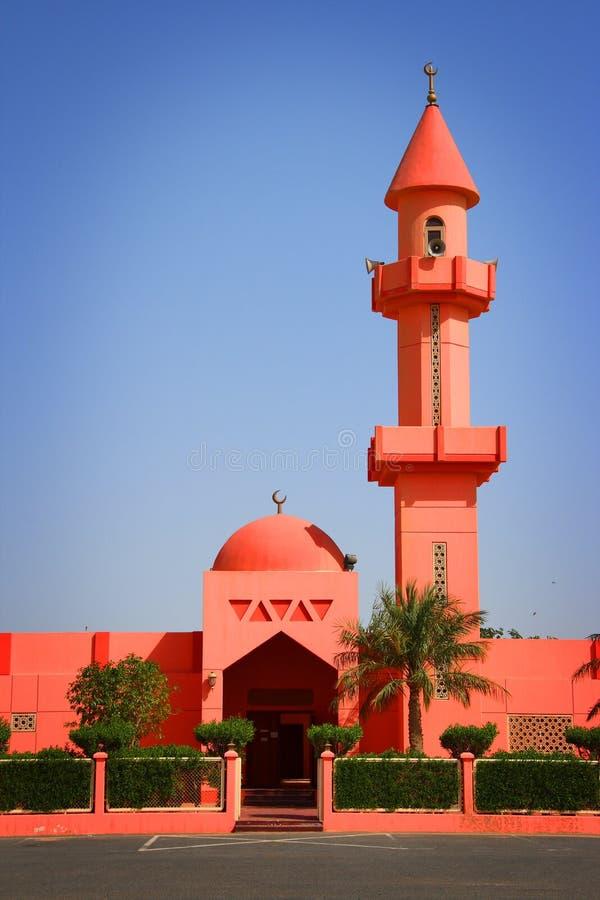 Kuwait: Mesquita cor-de-rosa fotos de stock