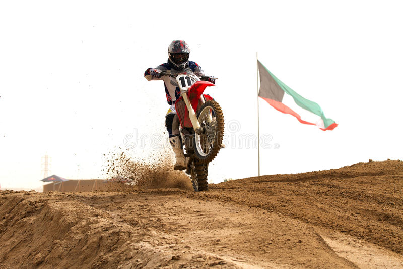 Download Kuwait Motorcross Competition Editorial Stock Photo - Image: 23724618