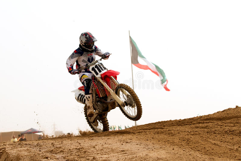 Download Kuwait Motorcross With The Kuwait Flag Editorial Stock Photo - Image: 23722833