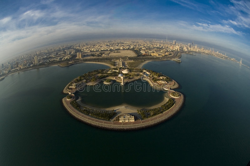 Download Kuwait From The Sky Royalty Free Stock Image - Image: 4539636