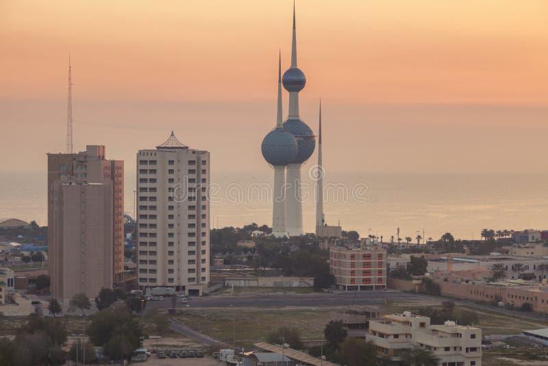 Kuwait-T?rme stockfoto