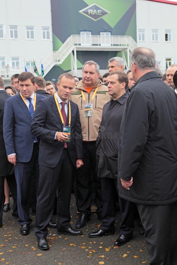 Download Kuyvashev, Badekha, Rogozin And Medvedev Editorial Stock Photo - Image: 34172558