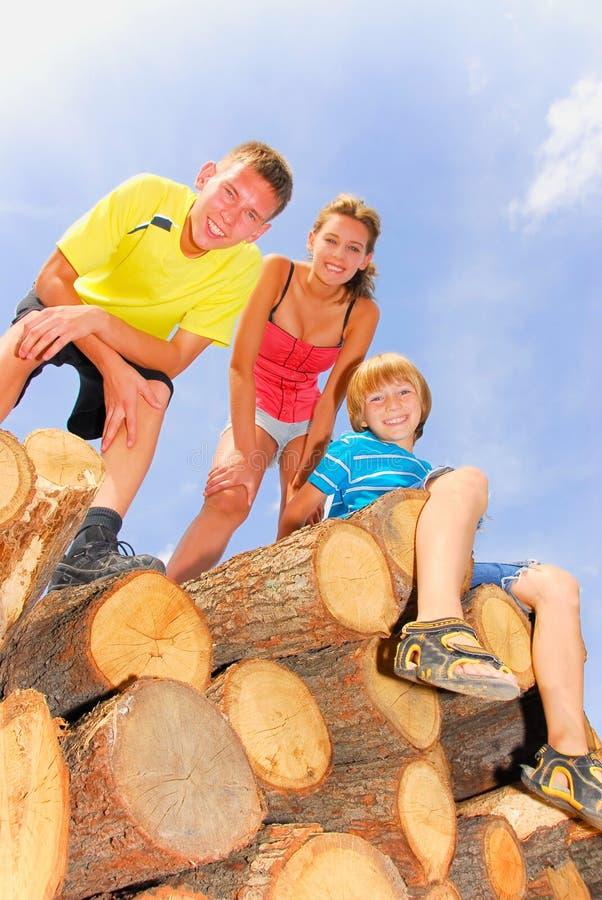 kuzyny drewniani zdjęcie royalty free