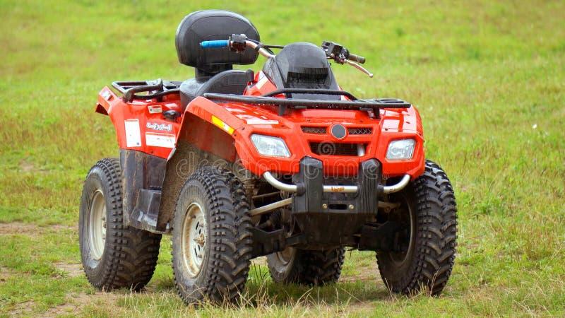 Kvadrat ATV fotografering för bildbyråer