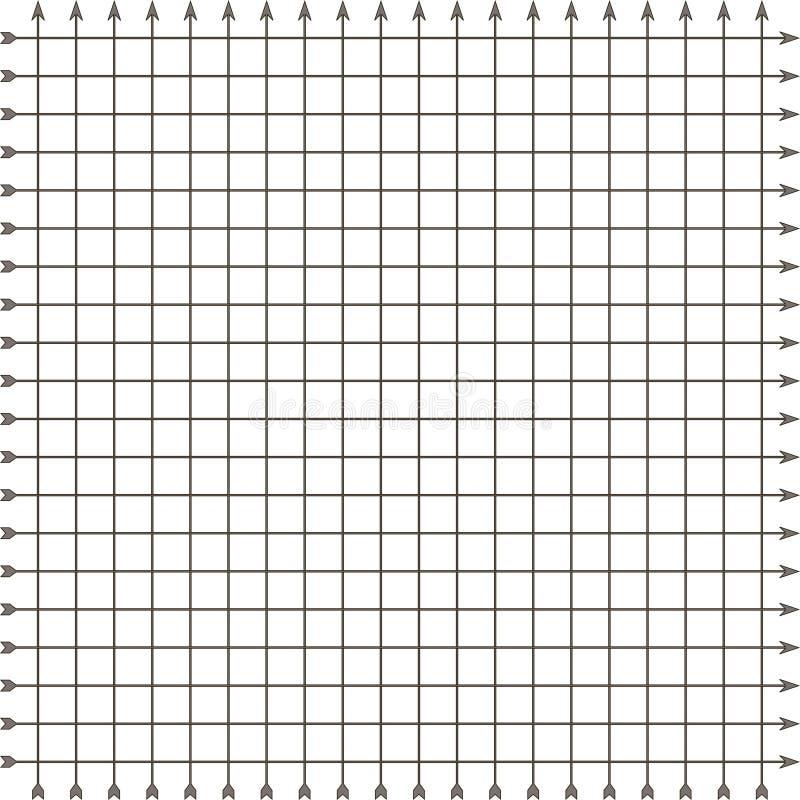 Kvadrera rastret vektor illustrationer